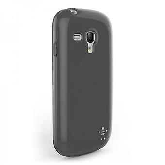 Belkin Grip Sheer Case Cover for Samsung Galaxy S3 Mini Black