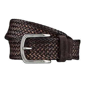 Windsor. Belts men's belts leather belt woven belt Brown 4181