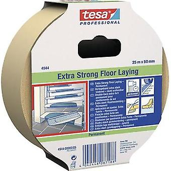 Double sided adhesive tape TESA White (L x W) 10 m x 50 mm Natural rubber Content: 1 Rolls