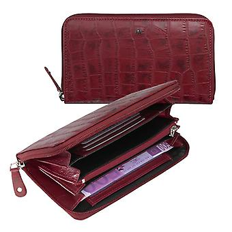 Dr Amsterdam ladies wallet Croco Red