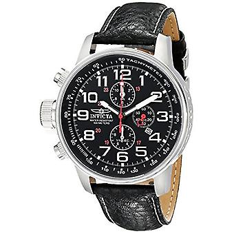 Invicta  I-Force 2770  Leather Chronograph  Watch