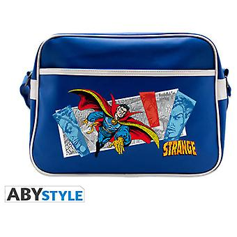 Abysse Marvel Messenger Bag Dr Strange Flying Blue Vinyl (Toys , School Zone , Backpacks)