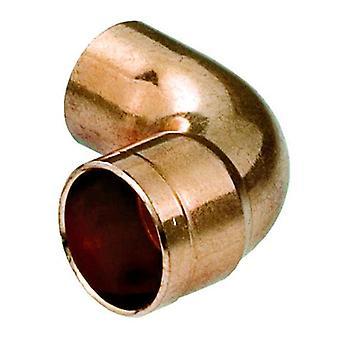 Vand Pipe Fitting albue kobber-stik lodde mandlige x kvindelige 15mm i Diameter