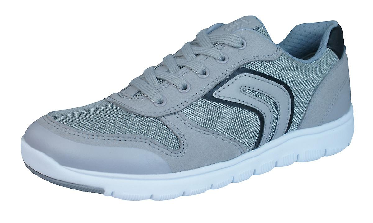 Geox J Xunday B Boys Trainers / Shoes - Grey