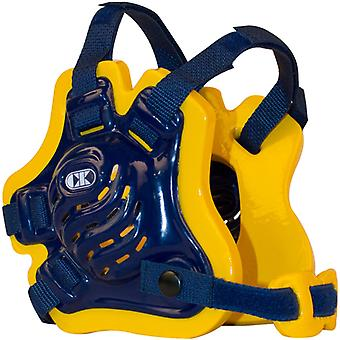 Cliff Keen F5 Tornado Wrestling Headgear - Navy/Gold/Navy