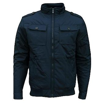 Soul Star Men's Preston Bomber Retro Casual Jacket Coat