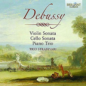 Debussy - Violin Sonata Cello Sonata Piano Trio [CD] USA import