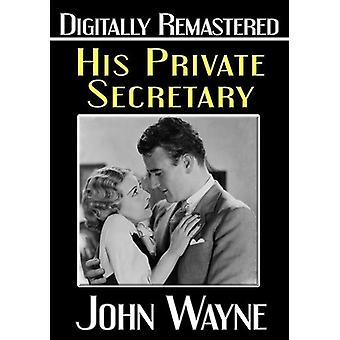 His Private Secretary [DVD] USA import