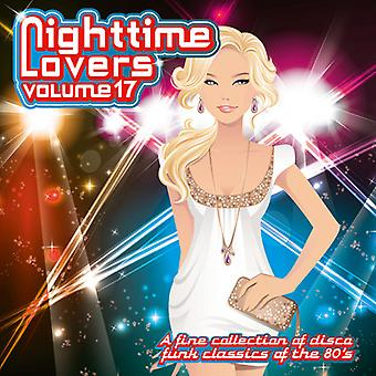 Nighttime Lovers - Vol. 17-Nighttime Lovers [CD] USA import