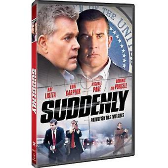 Pludselig [DVD] USA importerer