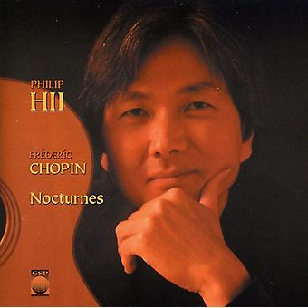 Phillip Hii - Chopin: Nocturnes [CD] USA import