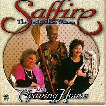 Saffire Uppity Blues-Frauen - Reinigung Haus [CD] USA import