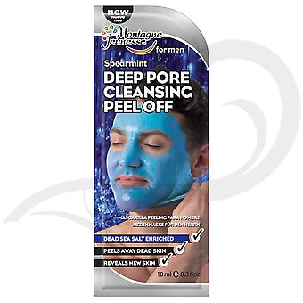Montagne Jeunesse Spearmint Deep Pore Cleansing Peel Off Men's Face Mask