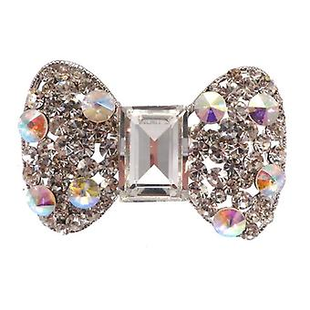 W.A.T Large Sparkling Crystal Bow Ring