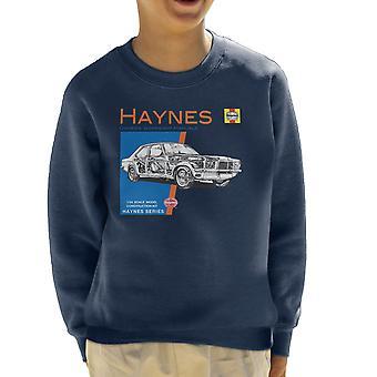 Haynes Owners Workshop Manual 0108 Vauxhall Victor VX4-90 Kid's Sweatshirt