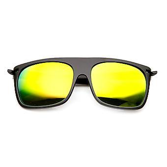 Action Sport torget färg spegel Flash lins Skate platt topp solglasögon