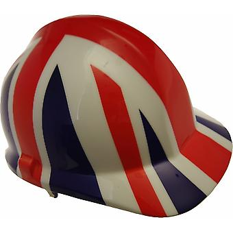Union Jack Themed Hard Hat