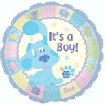Foil Balloon 'IT'S A BOY' Rounded 18""
