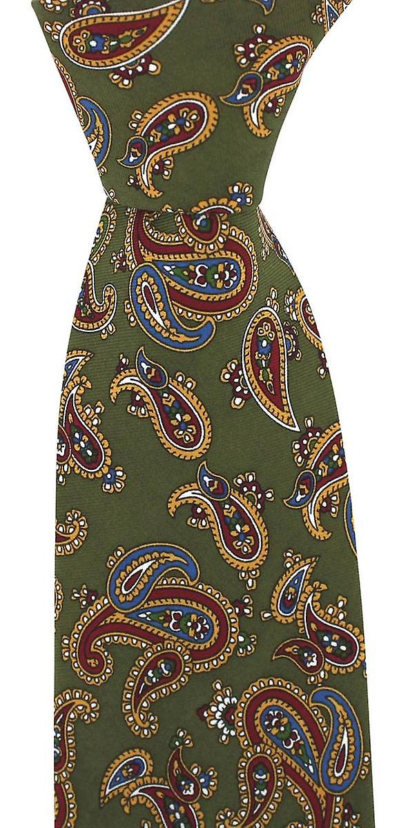 David Van Hagen Vintage Tie  - Green