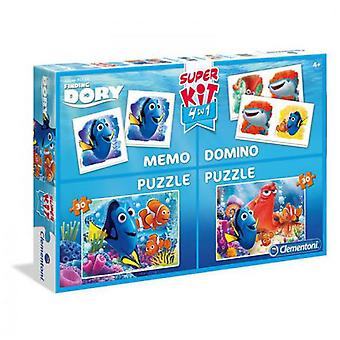 Clementoni Superkit 4 in 1 Finding Dory