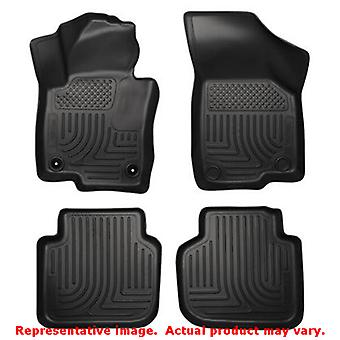 Husky Liners 98681 Black WeatherBeater Front & 2nd Seat FITS:VOLKSWAGEN 2012 -