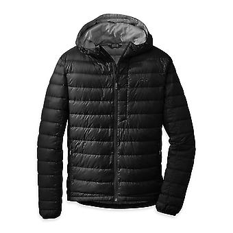**SALE**Outdoor Research Mens Transcendent Down Hoody Black (X-Large)