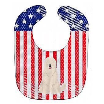 Каролинских сокровища BB3019BIB патриотических США Южнорусская овчарка ребенок нагрудник