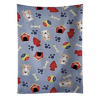 Carolines Schätze BB4007KTWL Hund Haus Sammlung Barsoi Küchentuch