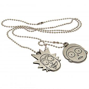 Rick y Morty Dog Tags