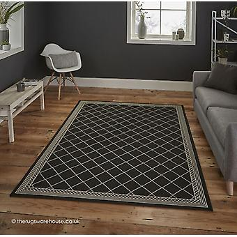 Cottage Mesh Black Rug