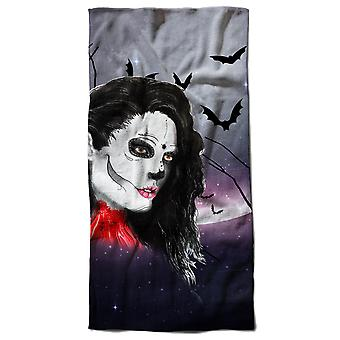 Dead Girl Stylish Beach Towel 70cm x 150cm | Wellcoda