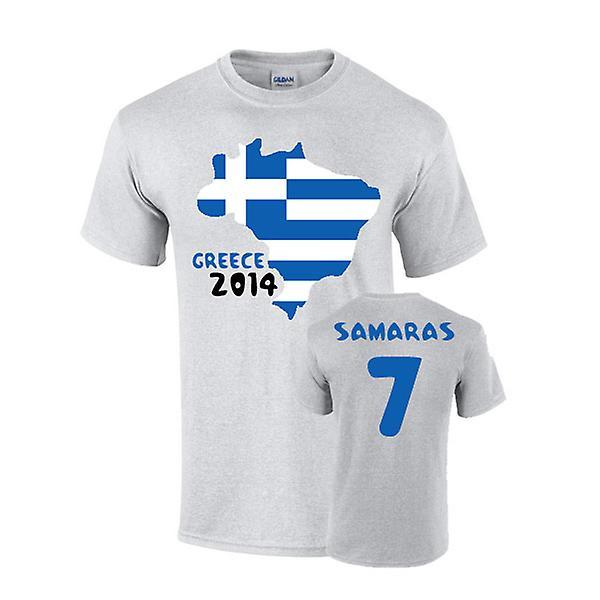 Greece 2014 Country Flag T-shirt (samaras 7)