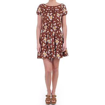 Juicy Couture Womens Falling Leaves Dress