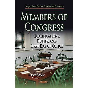 Members of Congress by Haylee Barlow