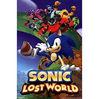 Sonic - Lost World Poster Print