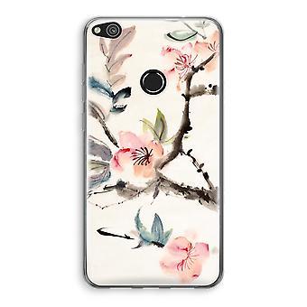 Caso de Transparant Huawei Ascend P8 Lite (2017) (Soft) - flores de Japenese