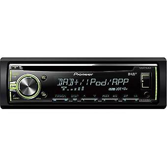 Pioneer DEH-X6800DAB Car stereo DAB+ tuner, Steering wheel RC button connector
