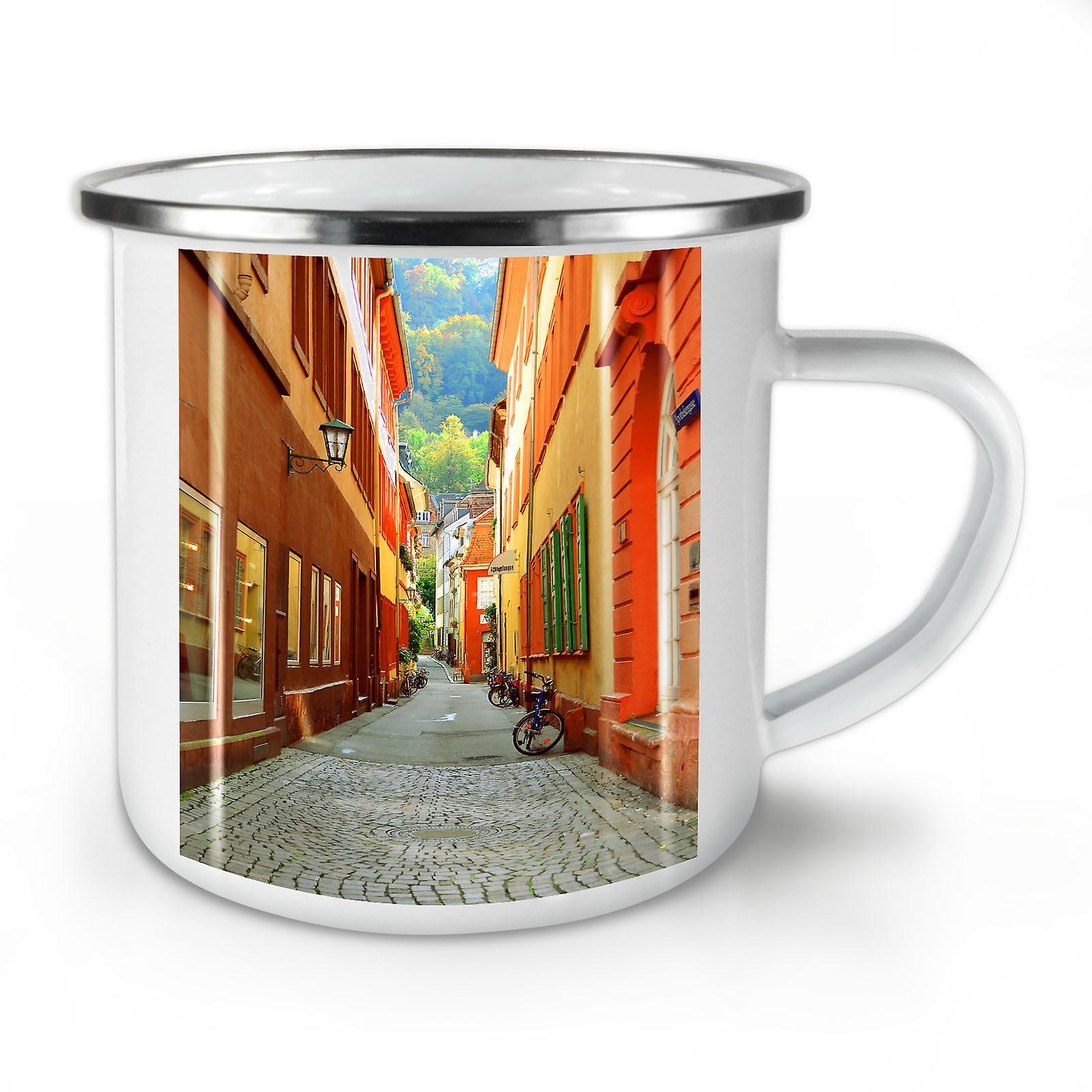 Mug10 OzWellcoda Le Petit De Nouveau Café Rue Cool Whitetea Émail hCdtQxsrB