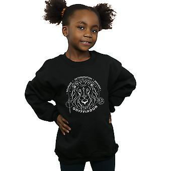 Harry Potter Girls Gryffindor Seal Sweatshirt