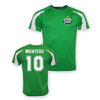 Fredy Montero Sporting Lisboa Sports trening Jersey (grønn)