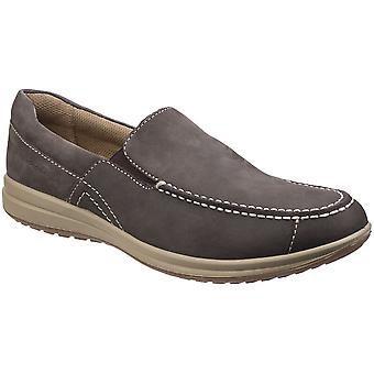 Hush Puppies Mens Runner Slip On Breathable Loafer Shoes