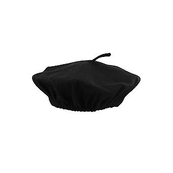 Unisex French Black Beret Hat Flat Cap Adult Fancy Costume Accessory
