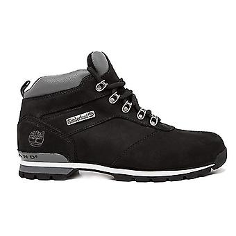 Timberland split rock 2 mens real leather trekking shoes black