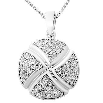 Orphelia Silver 925 Chain With Pendant Zirconium  ZH-6043