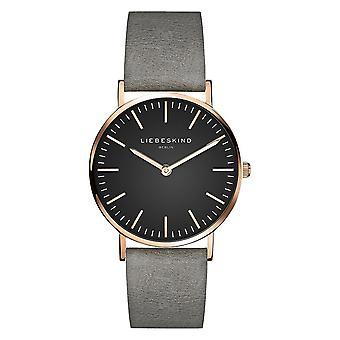 LIEBESKIND BERLIN ladies watch wristwatch leather LT-0094-LQ