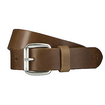 Cinturones de Lee cinturones hombre cuero cinturón verde 4652