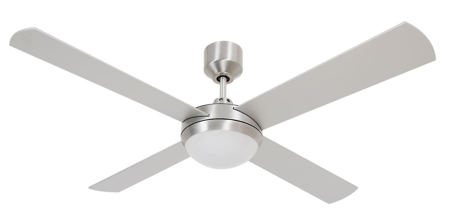 LED ceiling fan Futura Eco argent with remote control