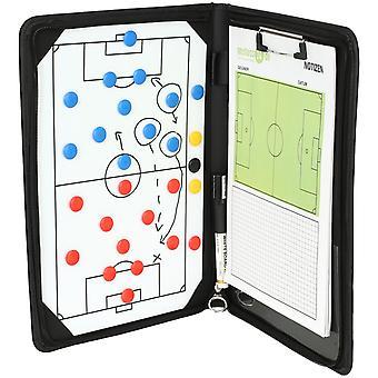 Premium magnetic tactics workbook 37x26cm incl. accessories