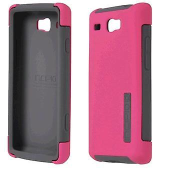 Incipio Silicrylic Case and Gel (Pink/Gray)