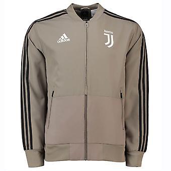 2018-2019 Juventus Adidas Woven Presentation Jacket (Clay) - Kids